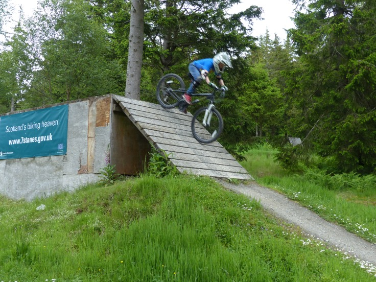 Ridgeback MX 24 at Glentress